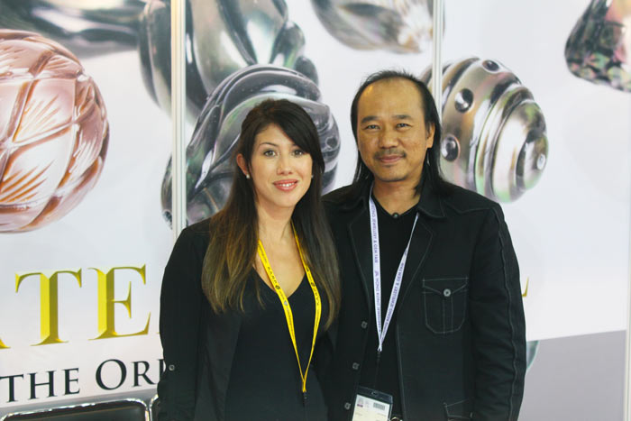 another image with the founder of Galatea pearls, Chi