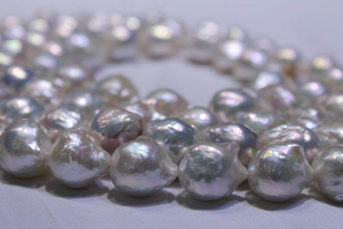 Grace Pearls' brilliant white pearls