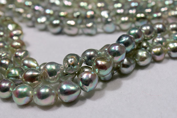 baroque Akoya pearls