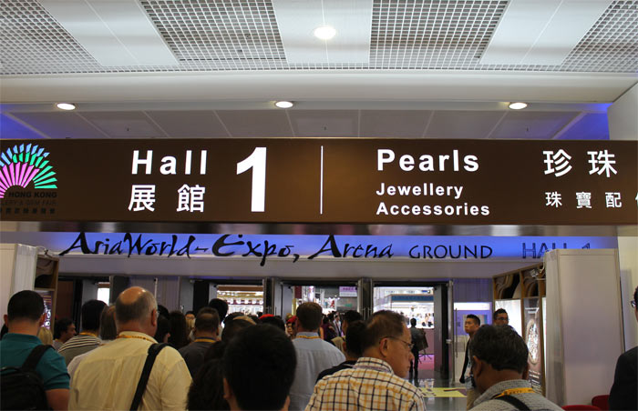 first day of the September 2014 Hong Kong Jewellry and Gem Fair