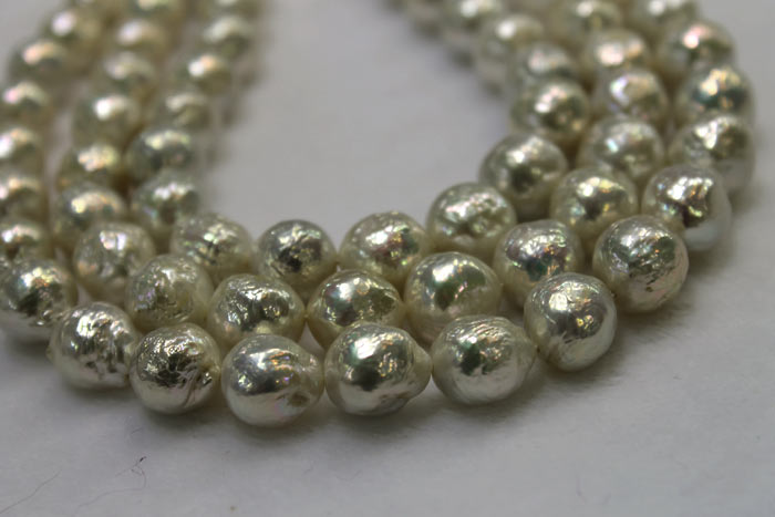 strands of magnificent baby ripple pearls