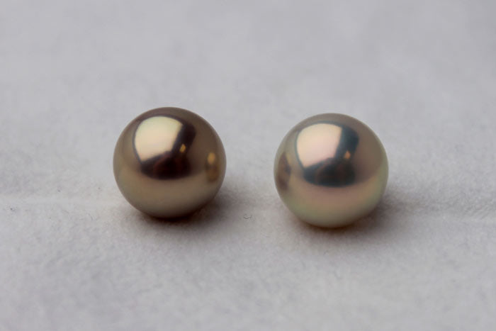 beautiful round pearls