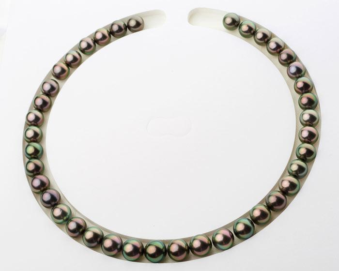 Custom Tahitian Pearl Necklace Layout