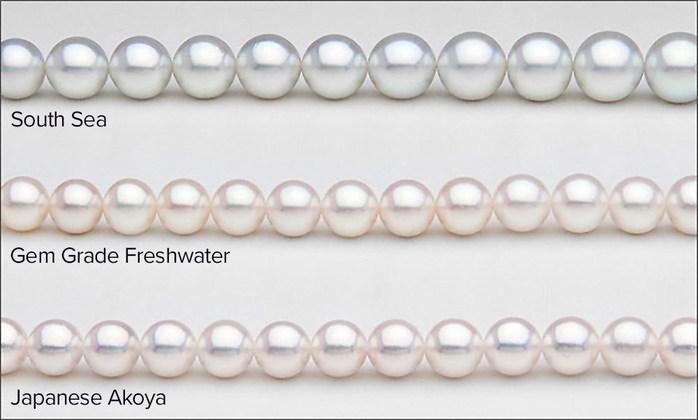 Common Customer Questions: How to Tell White Pearl Types Apart