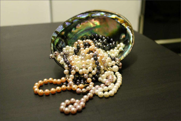 abalone with pearls