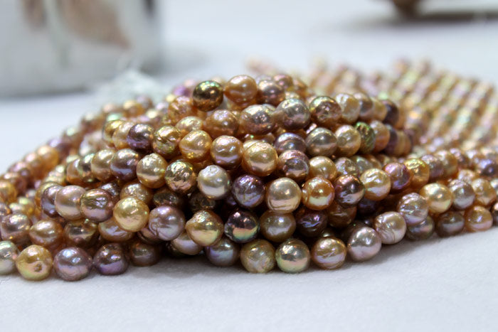 pile of colorful ripple pearls