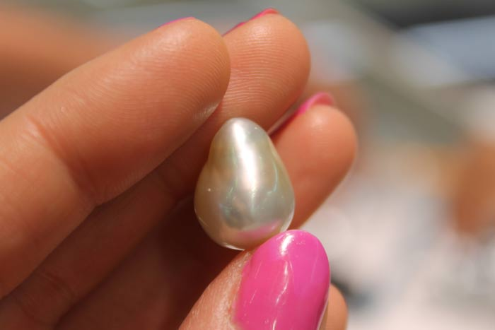 silver south sea pearl