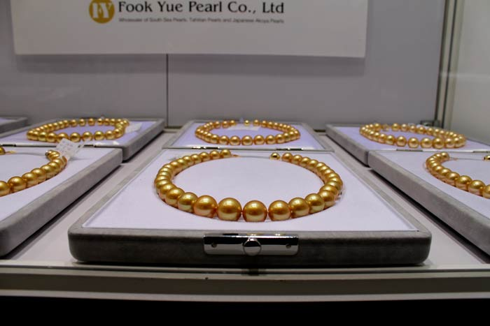 deep golden south sea pearls