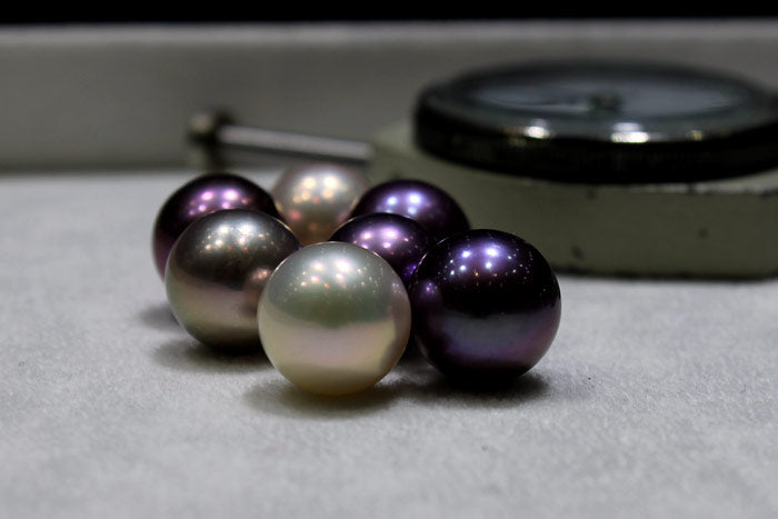 The Edison pearls I selected