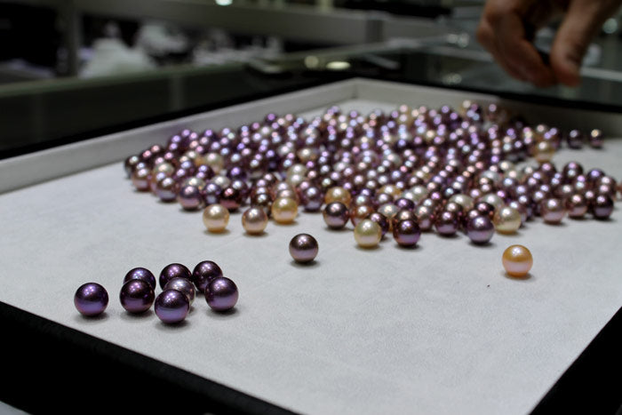 picking out the best pearls from the bag