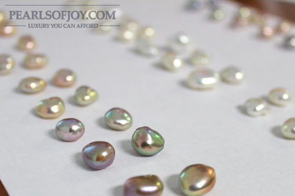 Exotic color freshwater pearls