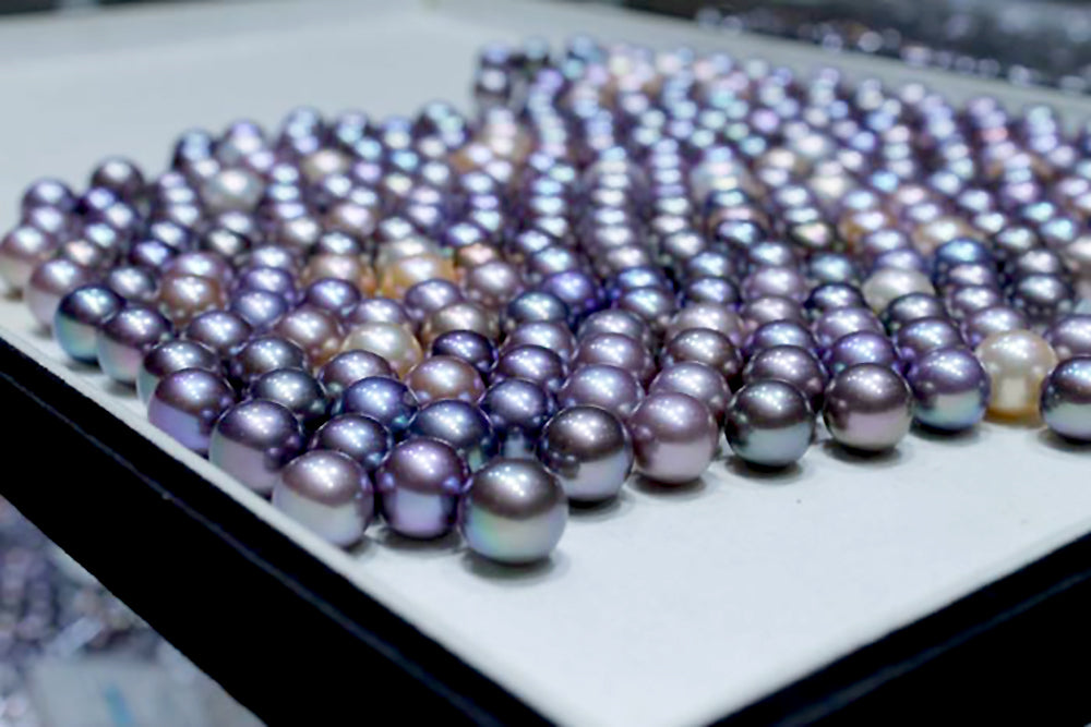 Eye Candy Pearl Spotlight: Easter Egg Colored Edison Pearls