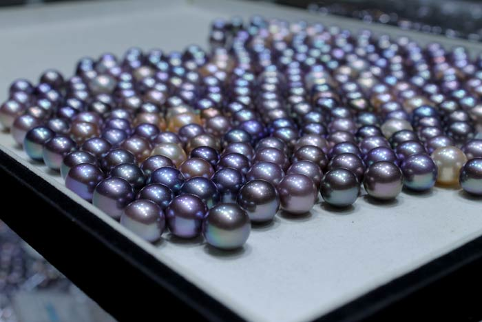 pile of top grade Edison pearls