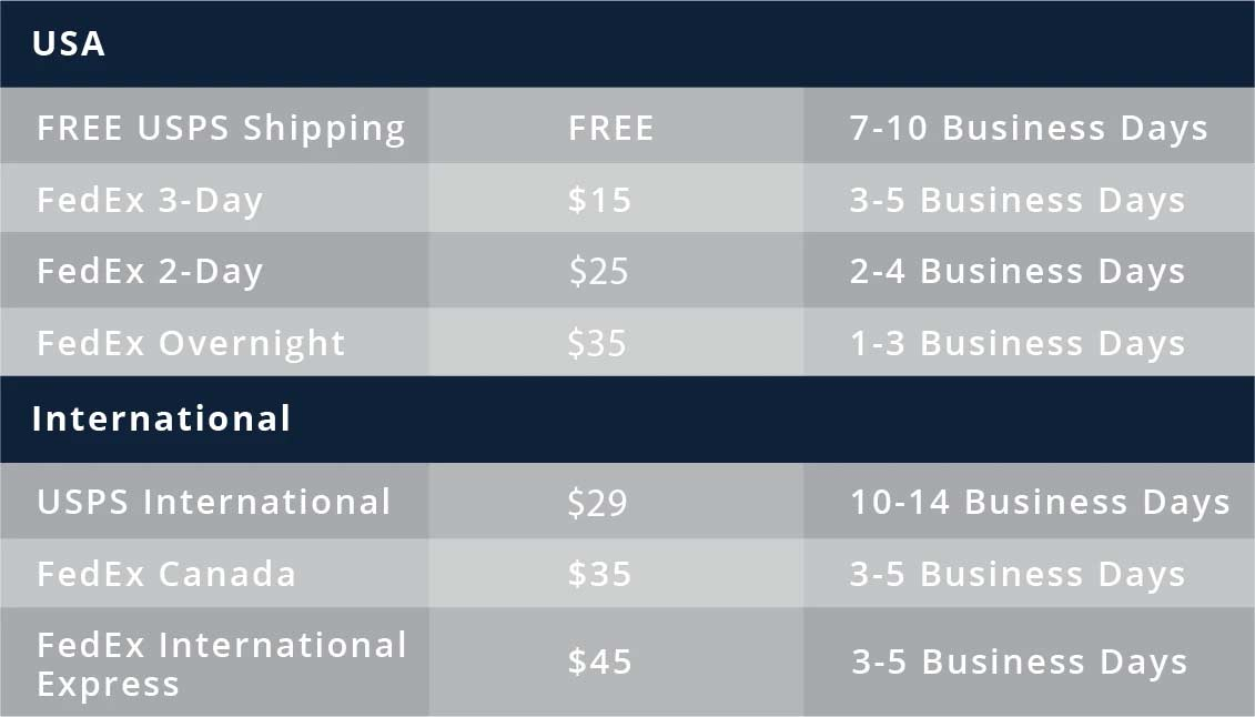 pearls of joy shipping rates