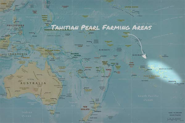 tahitian pearl farming areas