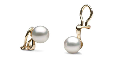 South Sea Clip-On Pearl Earrings: All Sizes