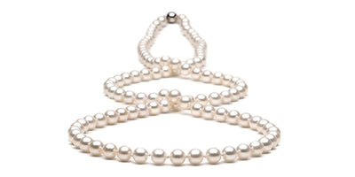 Freshwater Pearl Rope:  6.5-7.0mm