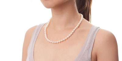 Akoya Pearl Necklace: 7.0-7.5mm