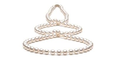 Freshwater Pearl Rope:  7.5-8.0mm - AAA