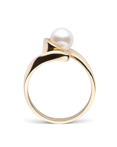 """Allure"" Akoya Pearl Ring: 6.0-6.5mm"
