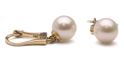Dangle Akoya Pearl Earrings: Various Sizes