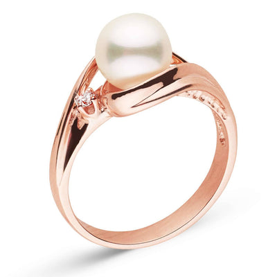 """Emergent"" Akoya Pearl Ring: 7.0-7.5mm"