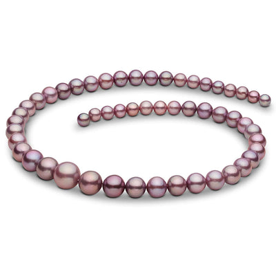 "18"" Metallic Freshwater Edison Pearl Necklace: 6.2-11.6mm"
