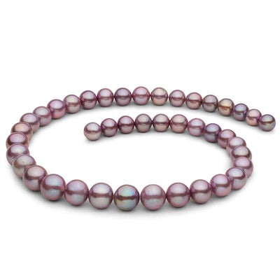 "18"" Metallic Freshwater Edison Pearl Necklace: 8.2-11.5mm"