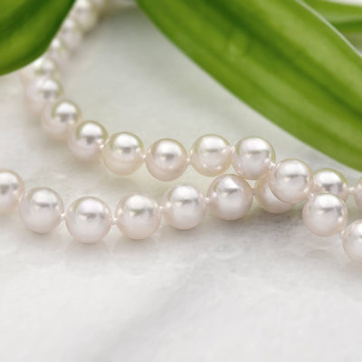 Akoya Pearl Necklace: 6.5-7.0mm