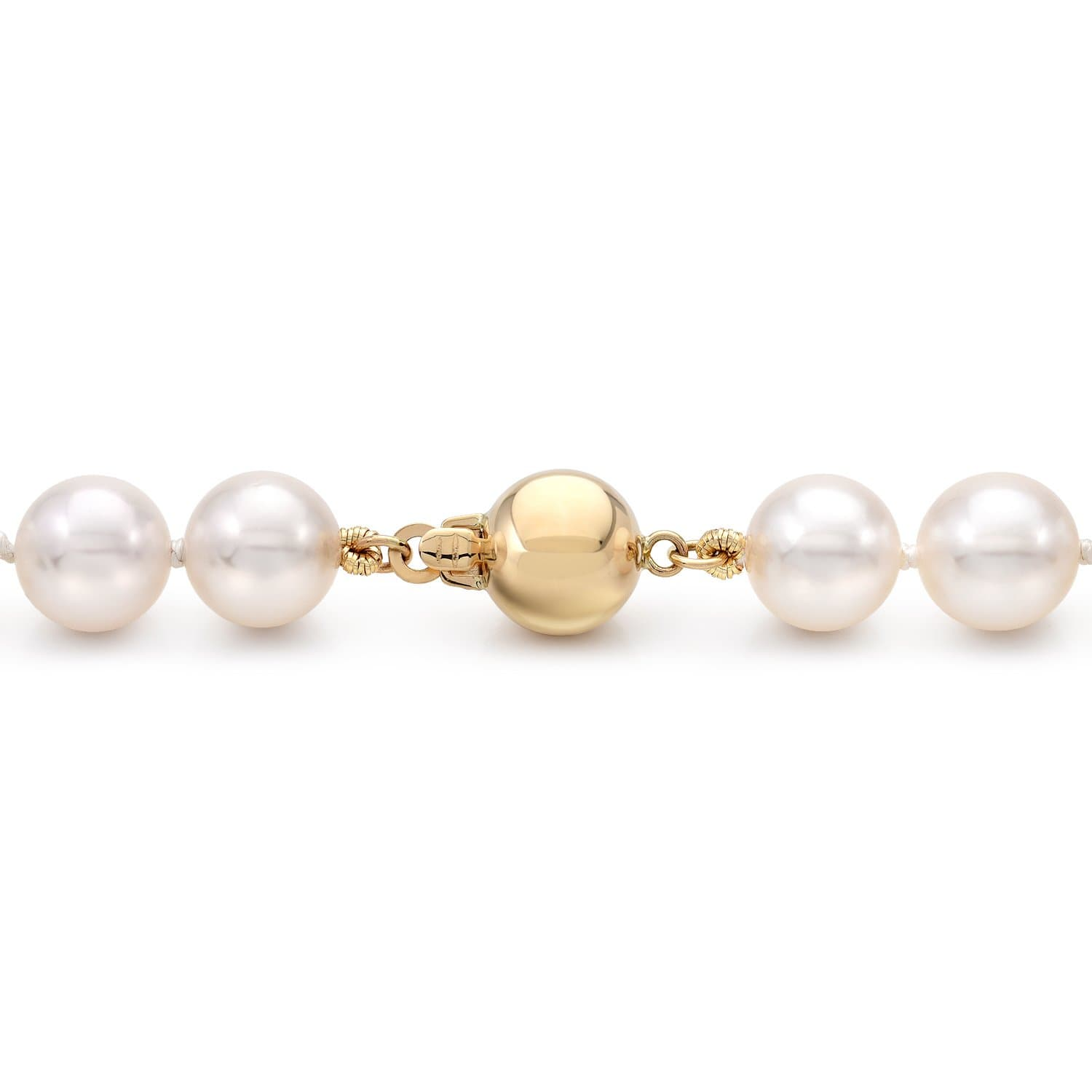 cfb8ea29d6f07 Akoya Pearl Necklace: 7.5-8.0mm