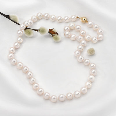 Akoya Pearl Necklace: 8.0-8.5mm