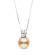 """The Classy"" Golden South Sea Pearl Pendant - AAA Grade"