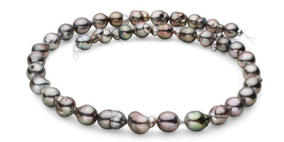 "18"" Free-Form Tahitian Pearl Necklace: 8.2-9.8mm AA+/AAA"