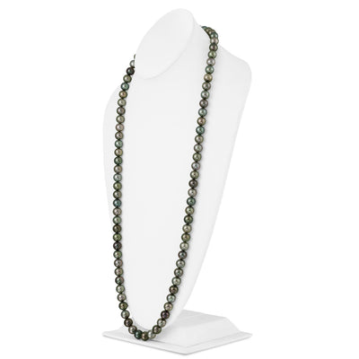 "35"" Round Tahitian Pearl Necklace: 10.0-10.8mm - AAA/Gem"