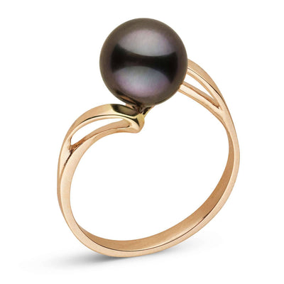 """Innocence"" Tahitian Pearl Ring: 8.0-9.0mm"