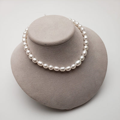 "18"" Baroque South Sea Pearl Necklace: 8.9-11.4mm AA+"