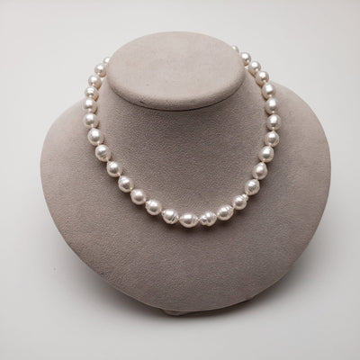 "18"" Baroque South Sea Pearl Necklace: 8.6-10.8mm AA+"