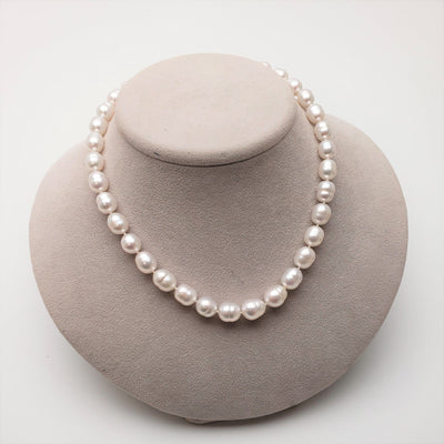 "18"" Baroque South Sea Pearl Necklace: 9.1-11.6mm AA+/AAA"