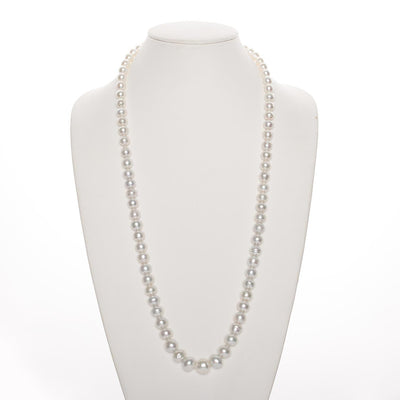 "32"" Baroque South Sea Pearl Necklace: 8.34-13.75mm AA+/AAA"