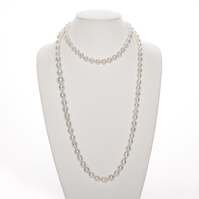 "48.5"" Baroque South Sea Pearl Necklace: 9.0-13.49mm AA+/AAA"