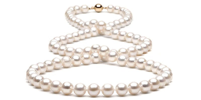 Freshwater Pearl Rope:  8.5-9.0mm