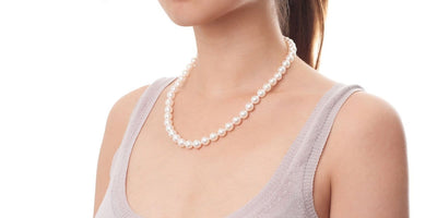 Akoya Pearl Necklace: 8.5-9.0mm