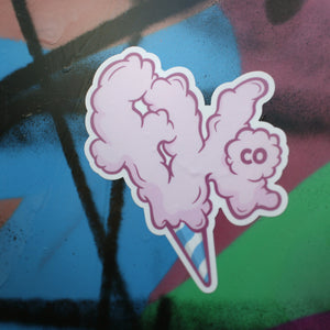 Cotton Candy Stickers (2)