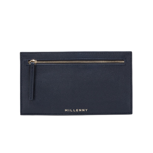 VALENCIA Double Zip Clutch