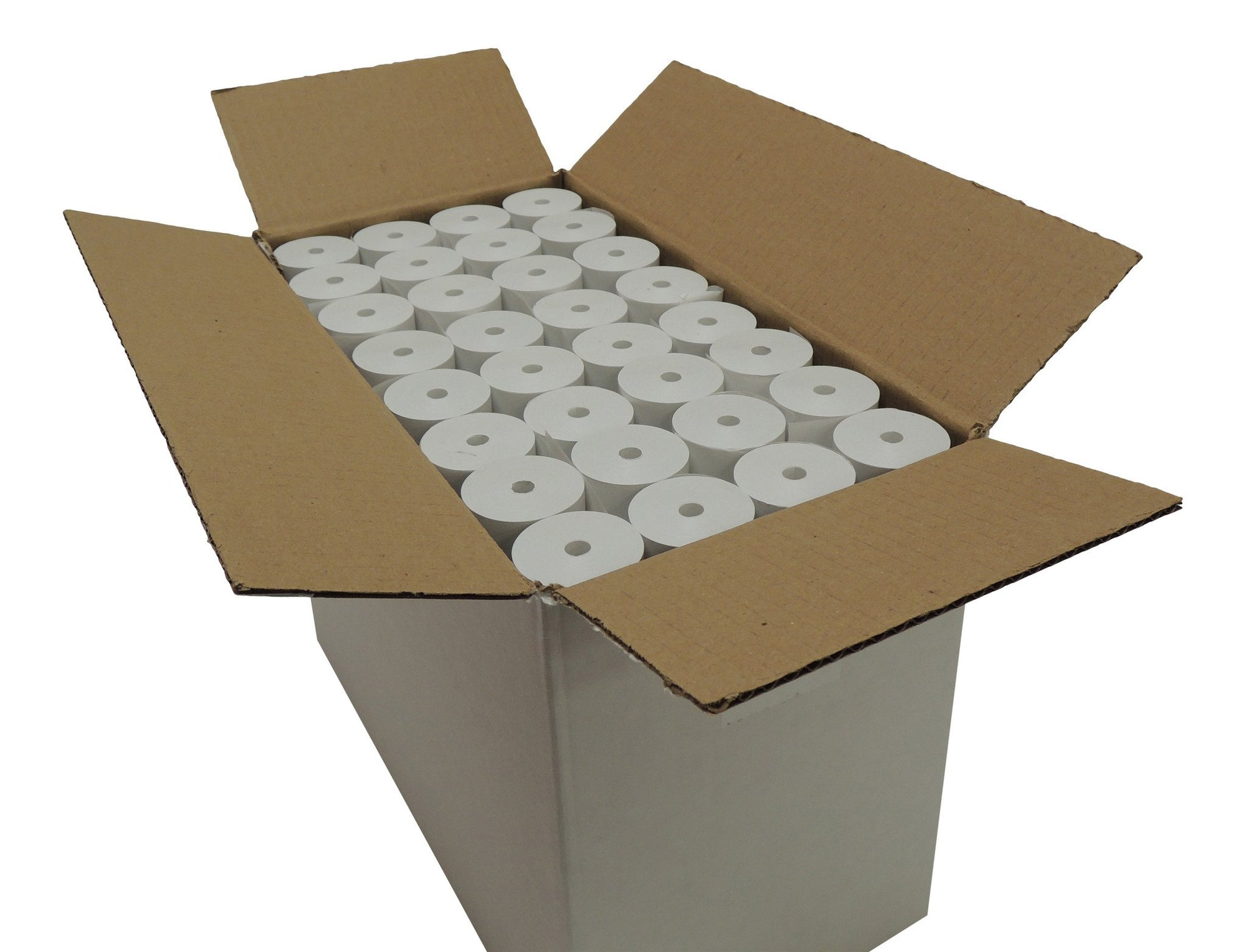 POS1 Thermal Paper 3 1/8 x 75 ft x 38mm CORELESS BPA Free 96 rolls