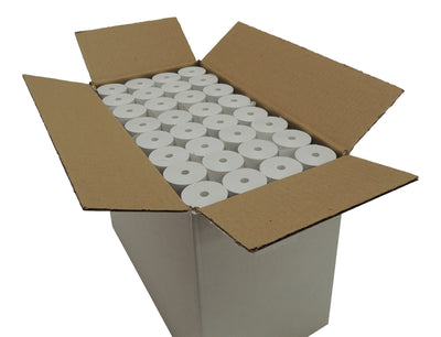 POS1 Thermal Paper Roll 3 1/8 x 75 ft x 38mm CORELESS BPA Free