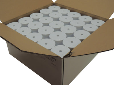 POS1 1 Ply Bond Roll 1 3/4 (44mm) x 150 ft CORELESS Bright White