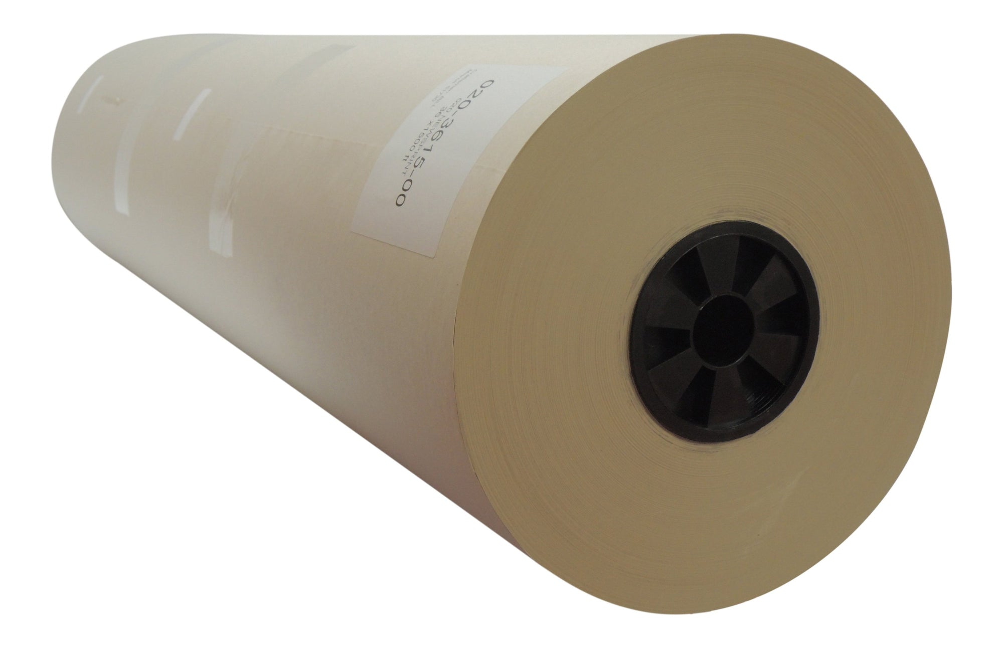 "36"" x 1500 ft Newsprint Paper Roll recycled for shipping, wrapping and void fill"