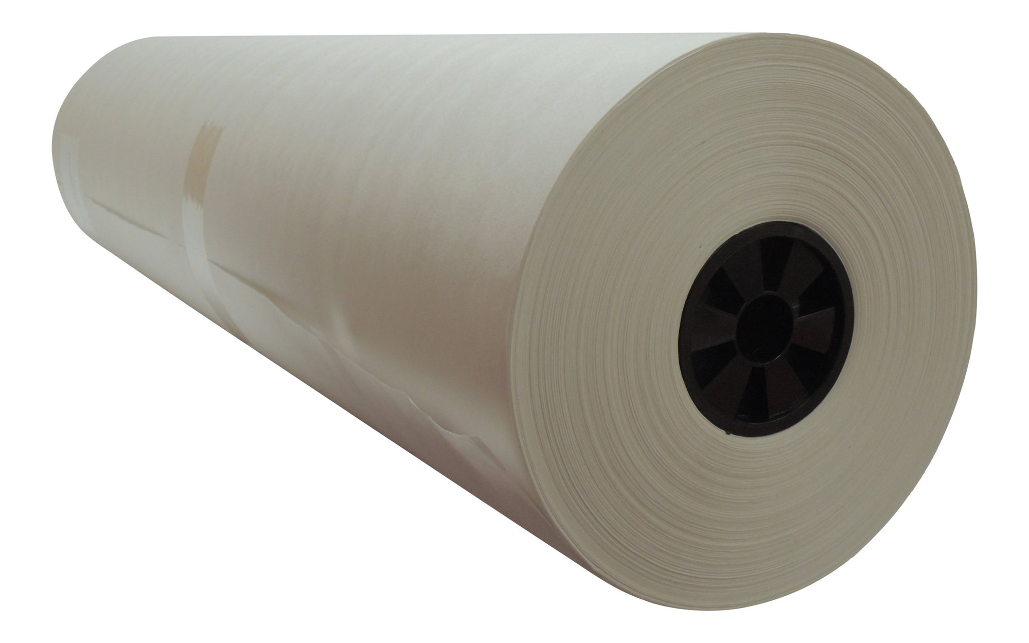 "36"" x 1125 ft 40# White Kraft Paper Roll for shipping, wrapping and void fill"