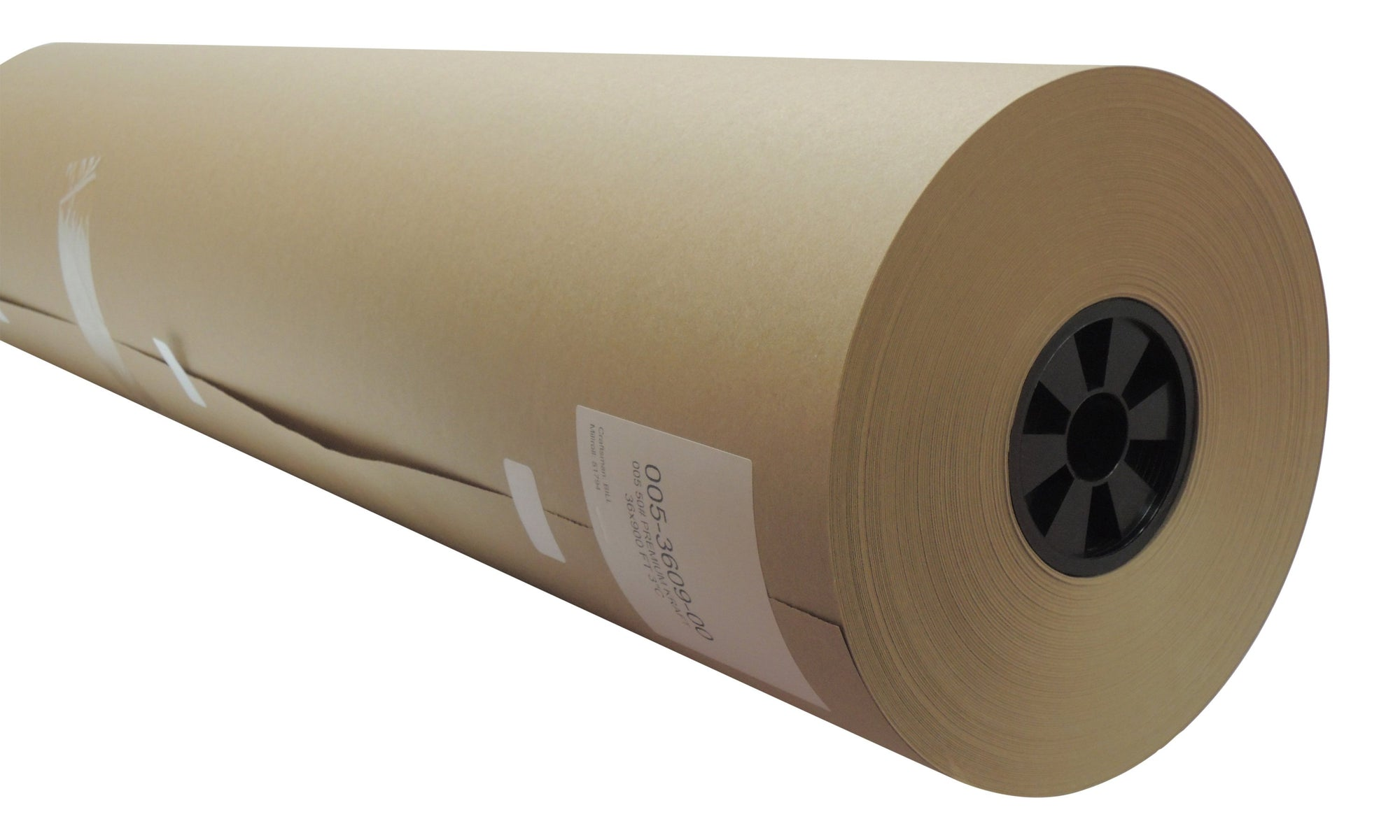 "30# Natural Kraft Paper Roll 24"" x 1500 ft"